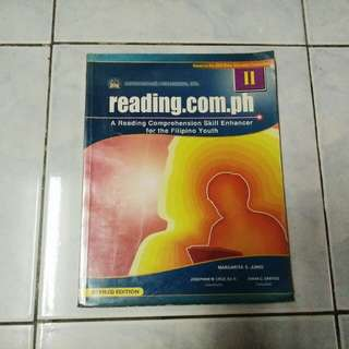 "Reading.com.ph ""A Reading Comprehension Skill Enhancer for the Filipino Youth"""