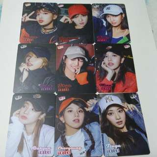 Twice yescards
