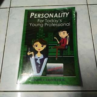 Persomality for Today's Young Professional PDPR