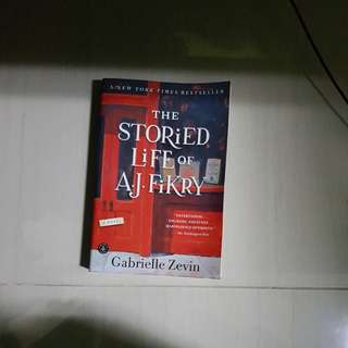 Book: The storied life of A.j. fikery