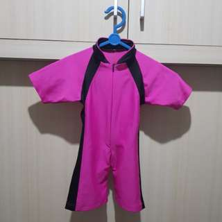 Baju Renang Pink 1 tahun