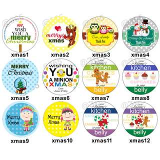 Personalized Christmas Tags, Stickers, Labels for your Hoilday Gifts