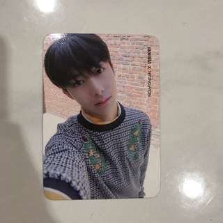 Monsta X Photocard Hyungwon Shine Forever Ver