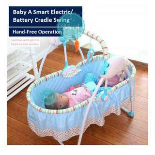 Baby A smart automatic cradle