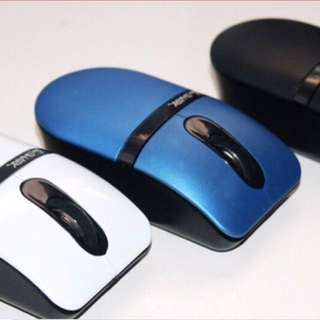✅INSTOCKS✅ Black and Blue Mini Wireless Mouse