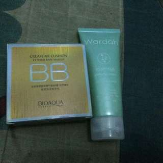 BB cushion bonus peeling cream