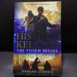 The History Keepers: The Storm Begins (Book 1)