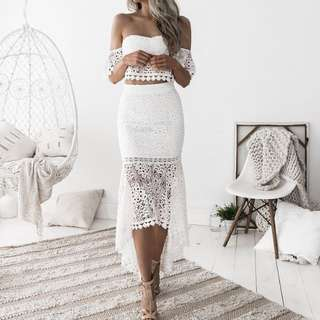 CELINE Lace Set (White)