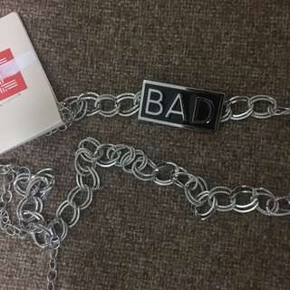 BAD chain belt - new