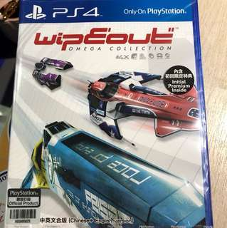 Wipeout omega PS4 全新