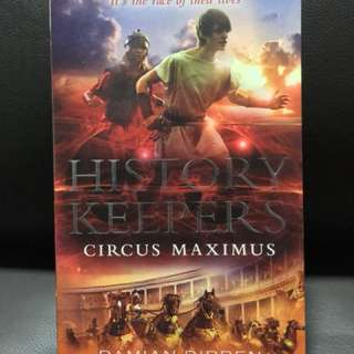 The History Keepers: Circus Maximus (Book 2)