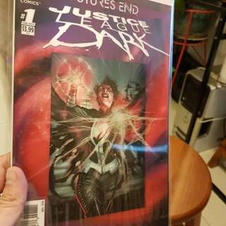DC COMICS FRONT COVER 3D JUSTICE LEAGUE DARK
