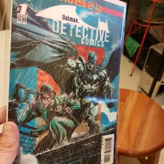 DC COMICS FRONT COVER 3D BATMAN DETECTIVE COMICS