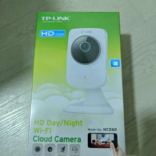 TP-Link HD Day/Night Wifi Cloud Camera NC260