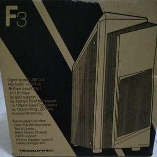 Tecware F3 MATX Case White