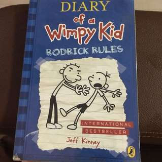 Dairy Of A Wimpy Kid Rodrick rules