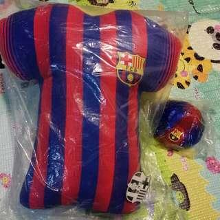 巴塞Cushion & Mini Football