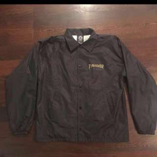 THRASHER Pentagram Coach Jacket (size m)