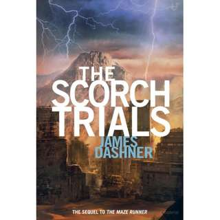 The Scorch Trials - The Maze Runner Series #2 (James Dashner)