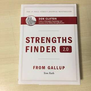 (W/ Access) StrengthsFinder hardcopy (Strengths Finder)