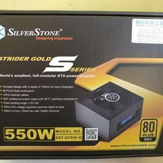 Silverstone SST ST55FG 550W Gold power supply