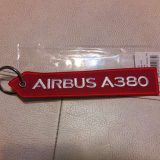 New Airbus A380 Remove before flight keychain