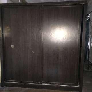 2 door sliding closet