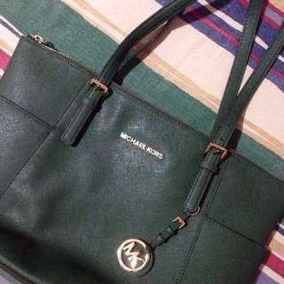 MK (Michael Kors) Leather Bag - Authentic