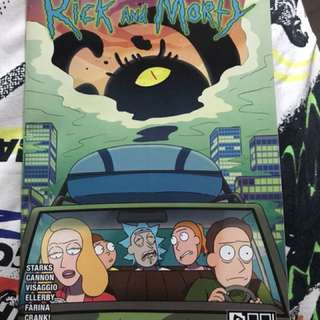 Rick & Morty comic