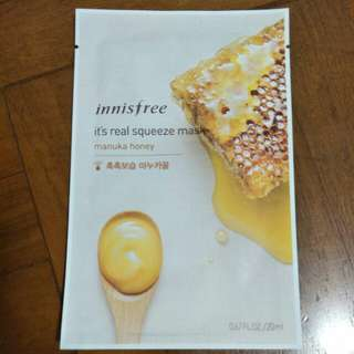 Innisfree Masks it's real squeeze mask