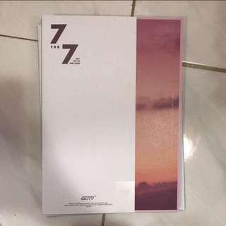 Got7 7 For 7 Album Only Magic Hour Mark
