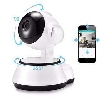 Home Security IP Camera Wireless Smart WiFi Camera Audio Record Surveillance HD Mini CCTV Camera
