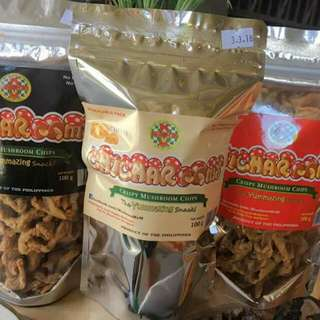 Chicharooms The Healthy Mushroom-Chicharon Snack