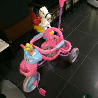 Disney Princess Bike -Cinderella (3 wheels)