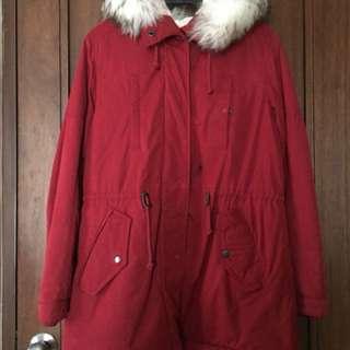 Giordano Red Winter Jacket