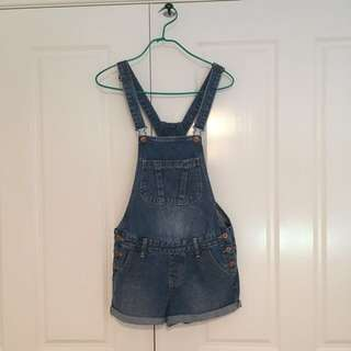 Cotton On denim overalls