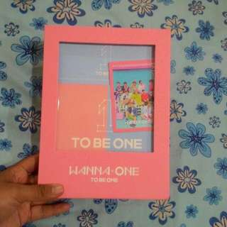 WANNA ONE To Be One Pink Ver