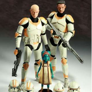 1/6 Scale Star wars_Sideshow Collectibles_ The Boil and Waxer with Numa Set 12 inch Figure_Hot Toys
