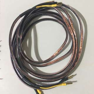 2.5m Analysis Plus Oval 12 USA Patent speaker Cable