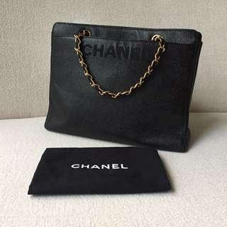 AUTHENTIC CHANEL Caviar Tote Bag