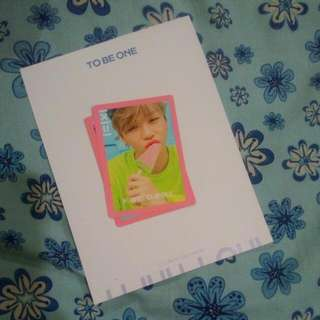 WANNA ONE To Be One Kang Daniel Pink Ver PC