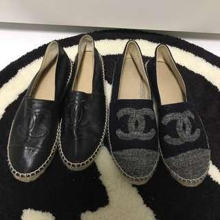 Chanel 渔夫鞋 请出价
