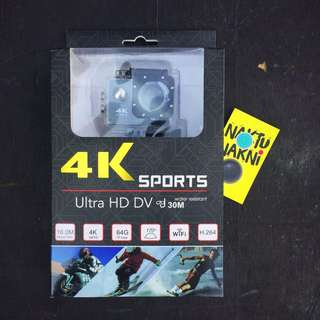 4K ULTRA HD DV SPORTS CAM