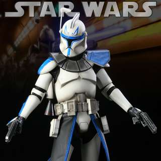 1/6 Scale Star wars_Sideshow Collectibles_Captain Rex (CT-7567) - Star Wars -The Clone Wars 12 inch Figure_Hot Toys
