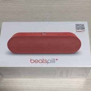 Brand New Beats Pill+ (Red)