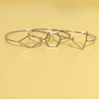 全新三色手環#金#銀#玫瑰金