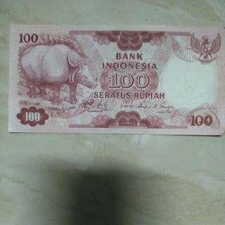Uang Rp.100