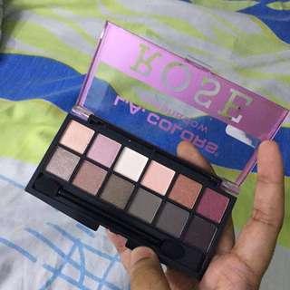 LA Colors Eyeshadow Palette (Rose & Nude)