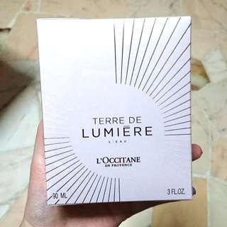 BNIB L'occitane Terre De Lumiere EDT 90ml