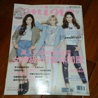 Mina2016/5少女時代TTS(Tiffany,太妍,徐玄封面)
